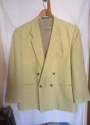 Стильный пиджак,лен,из германии