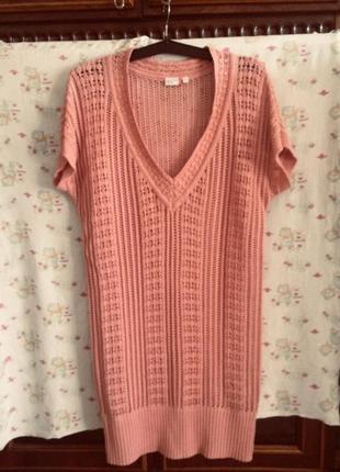 Пляжное платье ,туника ажурная,от бренда outfit fashion