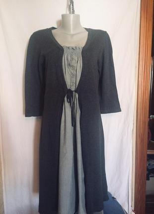 Стильное платье обманка от  marks & spencer