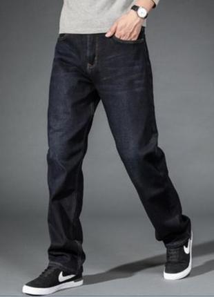 Джинсы черные,прямые identic mens wear