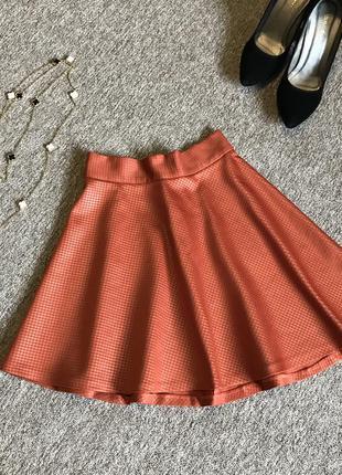 Кльошна спідниця міні, красивая мини юбка, клеш