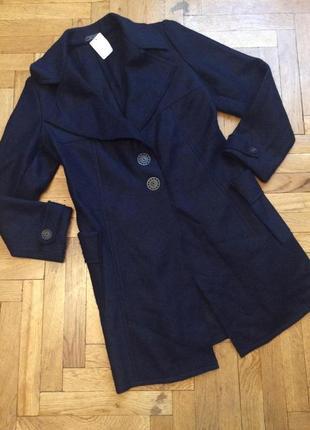 Крутое пальто,полупальто,пальто-кардиган,шерсть от бренда geisha
