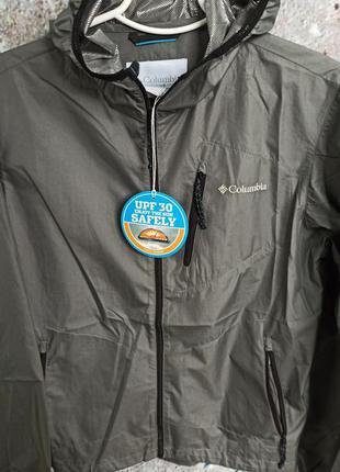 Куртка- ветровкалетняя columbia на омнихит.
