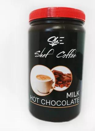 Горячий шоколад молочный ShefCoffee 1кг.