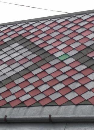 Декоративне дахове покриття Шашка