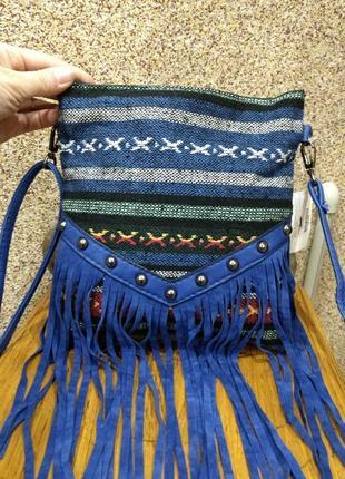 Новая сумка в этно стиле