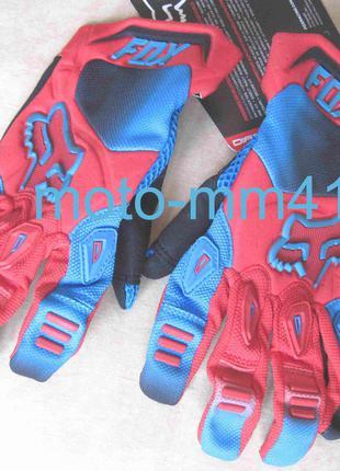 Мото вело перчатки FOX, размер M