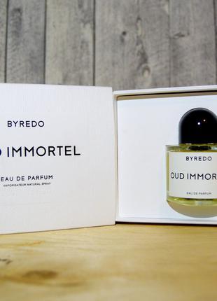 Byredo Oud Immortel Оригинал EDP  2 мл Затест_парф.вода