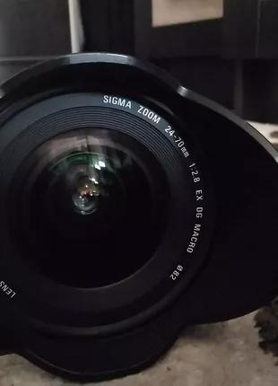 Об'єктив Canon 24-70mm f 2.8, 82mm, sigma
