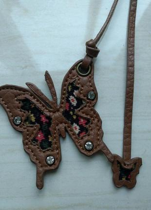 Брелок подвес на сумку бабочки