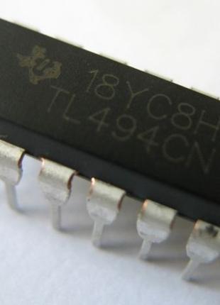 Мікросхема TL494CN ШИМ-контролер DIP16