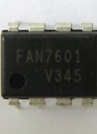 Мікросхема FAN7601 ШИМ-контролер