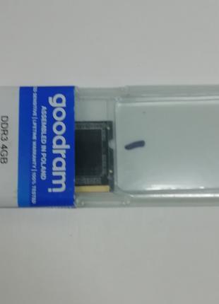 Оперативная память SODIMM GOODRAM 4GB DDR3L 1600 MHz (GR1600S3V64