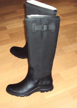 Timberland waterproof (37-40). Кожаные водонепроницаемые сапоги.
