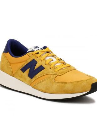 New balance 420 (стел. 30-35см). Кожаные кроссовки. Оригинал США.