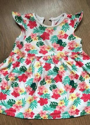 Платье primark на 6-9 месяцев
