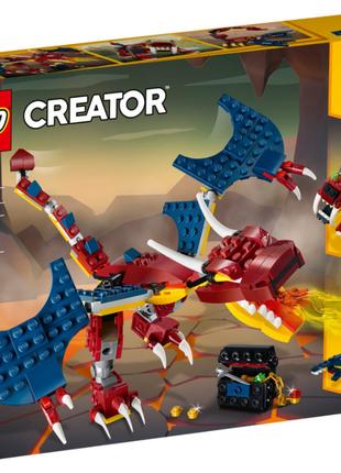LEGO Creator 31102 Конструктор ЛЕГО Огненный дракон на 234 детали