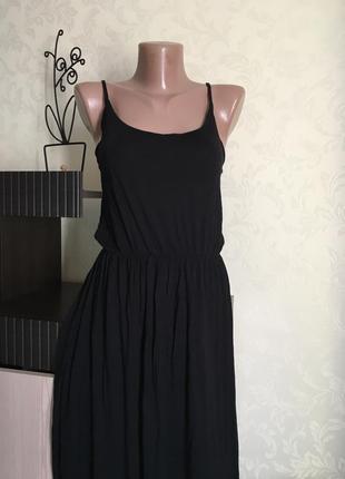 Трикотажное платье в пол divided размер см