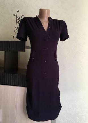 Платье topshop цвет баклажан размер см
