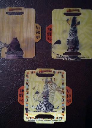 Пластиковые карточки с под чипсов