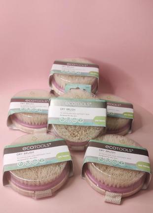 Ecotools dry brush, щётка для сухого массажа iherb