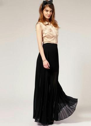 Фирменная плиссированная юбка pimkie, размер м