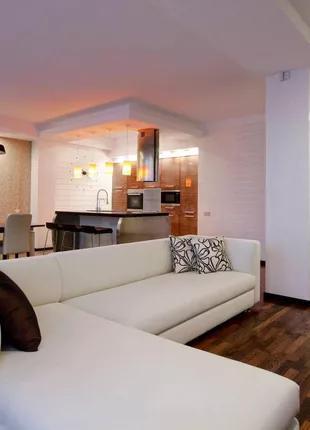 Квартира с дизайнерским стильным ремонтом в ЖК ''Новая Аркадия''