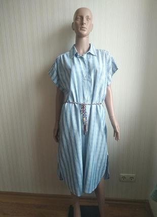 Платье халат оверсайз италия