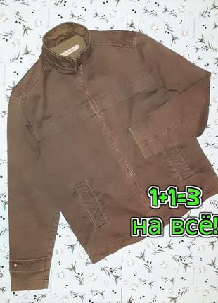 🌿1+1=3 демисезонная мужская джинсовая куртка john rocha, разме...