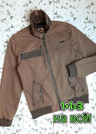 🎁1+1=3 базовая коттоновая мужская куртка ветровка next, размер...