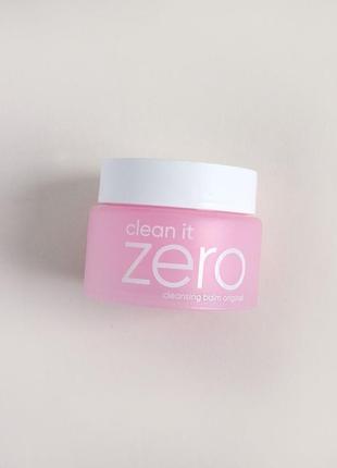 Очищающий бальзам щербет гидрофильный banila co. clean it zero...