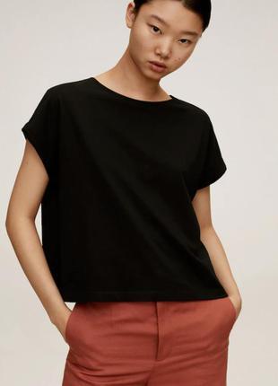 Базовая футболка mango
