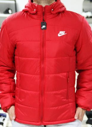 Зимняя куртка Nike simply red