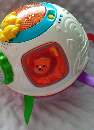 Інтерактивний м'яч VTech/мячик,шар инерционный музыкальный