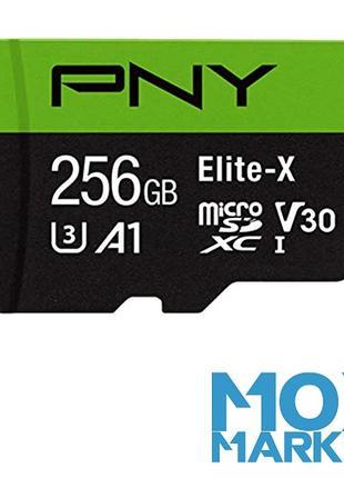 Флеш карта памяти 256 GB ГБ PNY MicroSD Micro SDXC Class 10 флешк