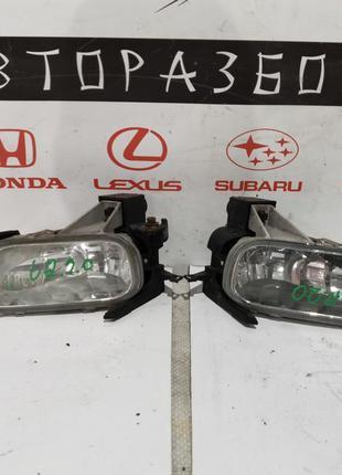 ПТФ Туманки Противотуманные фары галогенки Honda CR-V 2 Хонда ...