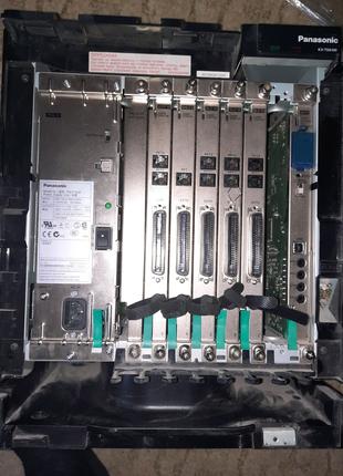 Мини атс на 64внутренних абонентов PANASONIC KX-TDA100