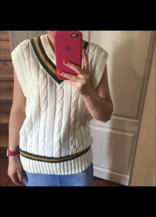 Актуальный винтажный жилет