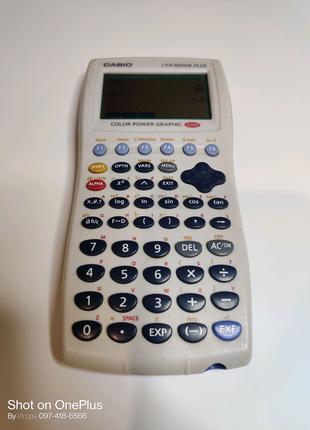 Casio CFX - 9850 GB Plus цветной графический калькулятор