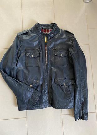 Куртка кожа премиум класса размер xl