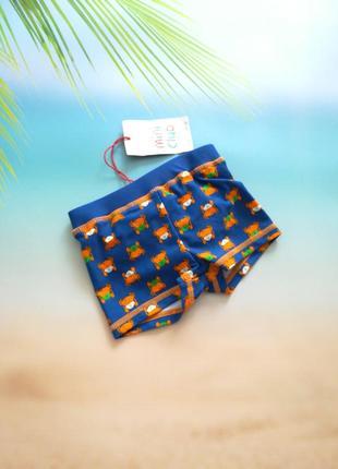 Купальные плавки шортики mini club