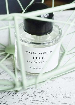 Byredo Pulp Оригинал EDP  2 мл Затест_парф.вода