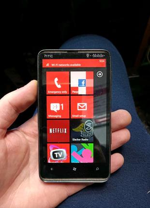 HTC HD7 PD29110 залоченый под оператора, нет русского языка