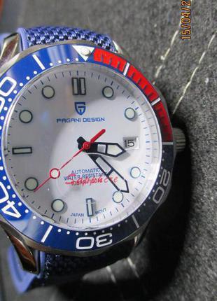 Pagani Automatic Seiko NH35A mov't часы механические!Новые!