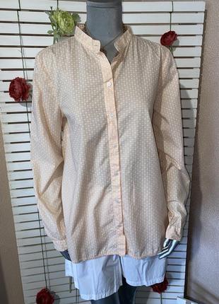 Рубашка в принт узор marco polo