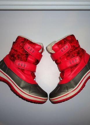 Pepperts немецкие термо сапоги / ботинки / сноубутсы , стелька...
