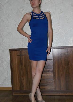 Короткое платье с красивым верхом
