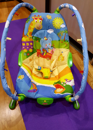 "Tiny Love дитяче  крісло-гойдалка ""Жителі савани"""