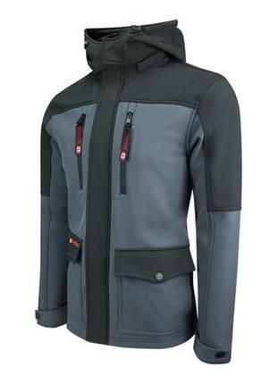 Мужская демисезонная куртка с съемнымкапюшоном canada weather...