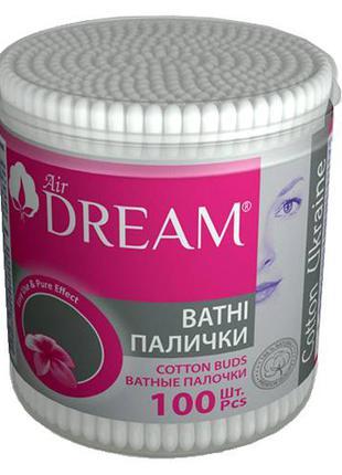 Ватные палочки Dream (100 шт) СТАКАН